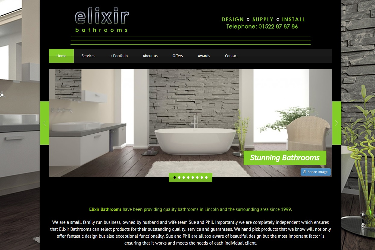 Elixir Bathrooms Lincoln - Designer bathrooms | Lincoln PC Services ...